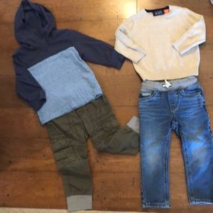 Toddler boys fall/winter lot.  Size 18-24 month.
